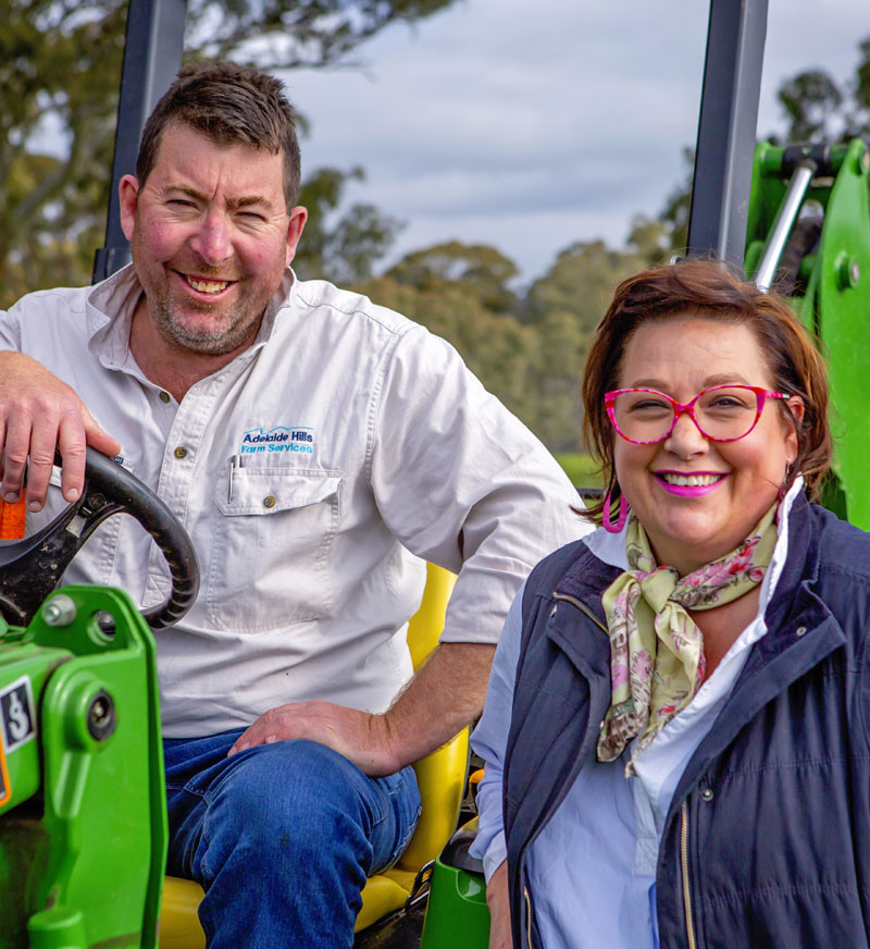 Farming advice and planning with Adelaide Hills Farm Services