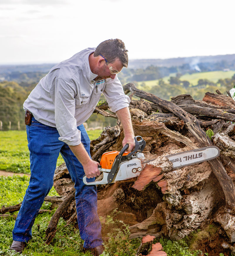 Farm maintenance with Adelaide Hills Farm Services