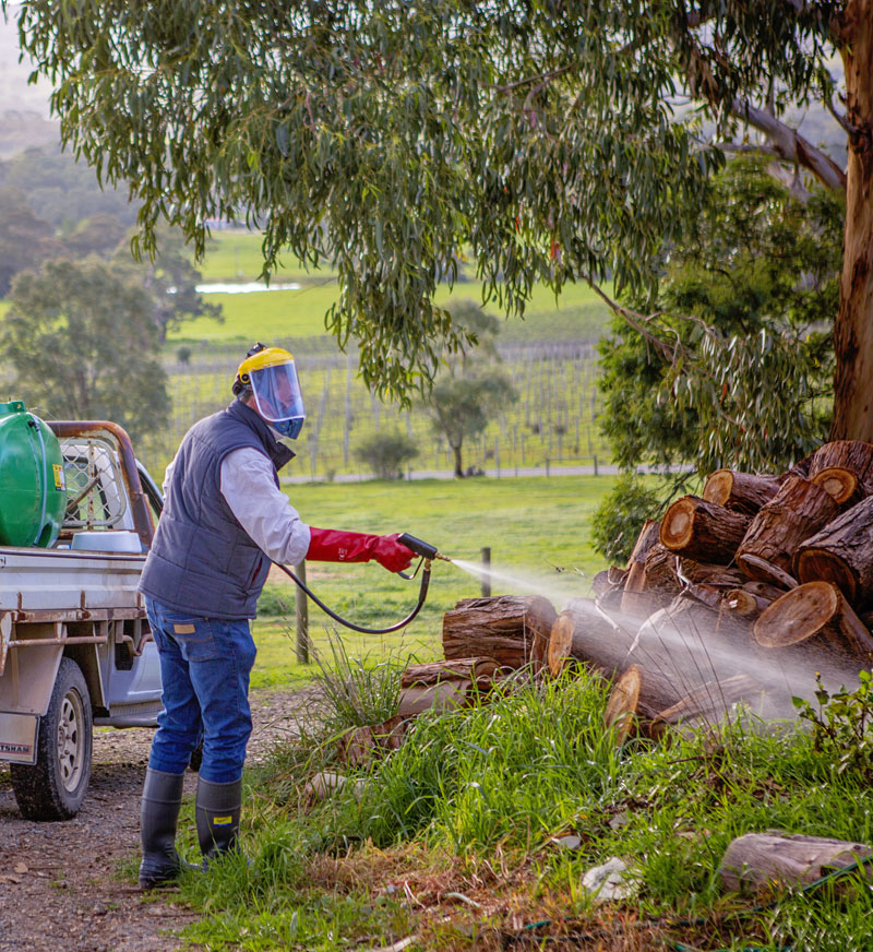 Weed Spraying with Adelaide Hills Farm Services