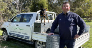 Lifestyle farming in the Adelaide Hills on ABC Adelaide: An interview with Belle and Pods about rabbits, roos, and weeds